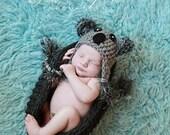 Baby Koala hat (newborn through toddler sizes)
