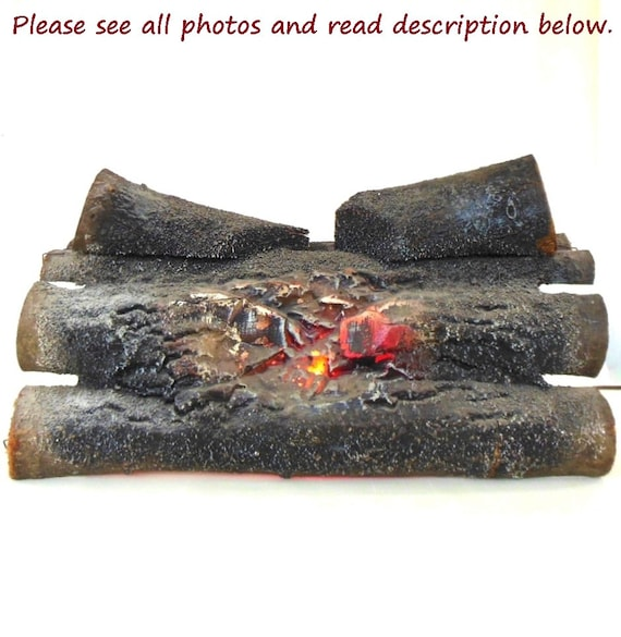 Fake Log Electric Fireplace Insert 60s Retro Decor Haydon Rotate Hearth - Fake Log Electric Fireplace Insert 60s Retro Decor Haydon