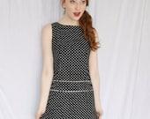 Vintage Polka Dots Mini Dress
