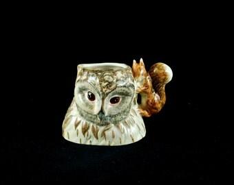 Vintage Beswick Beatrix Potter 'Old Mr Brown' Character Jug