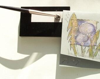 Dandelions - blank greeting card