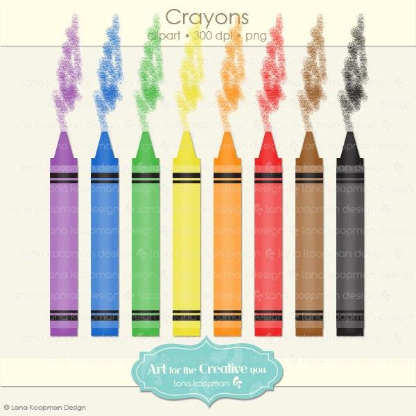 Crayola Crayons Clip Art Crayon digital clipart
