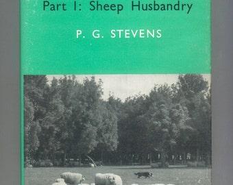 Sheep and Sheep Husbandry New Zealand, Wool Ranching Shepherding and Animal Husbandry 1967 Vintage Hardcover Book
