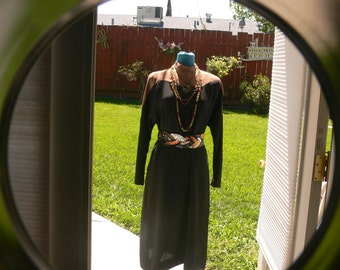 tan and black dress size 9-10