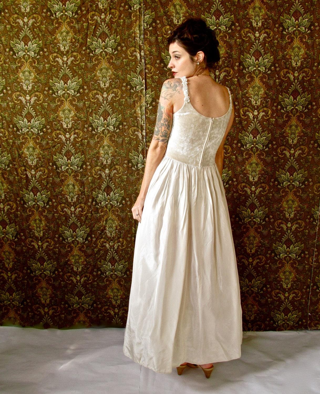 Vintage Jessica Mcclintock For Gunne Sax Wedding Dress Full