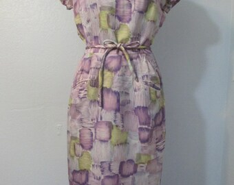 Circa late 1950s early 1960s Vintage Dress