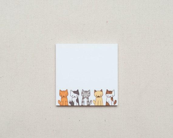 Doodlecat Post-it Notes - Sticky Notes