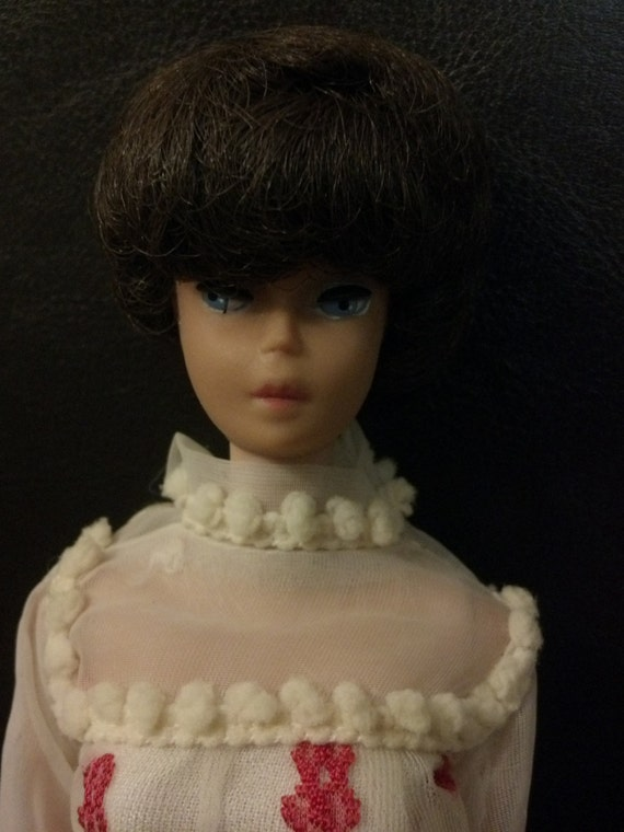 Vintage Black Bubble Cut Midge Barbie Body 1963