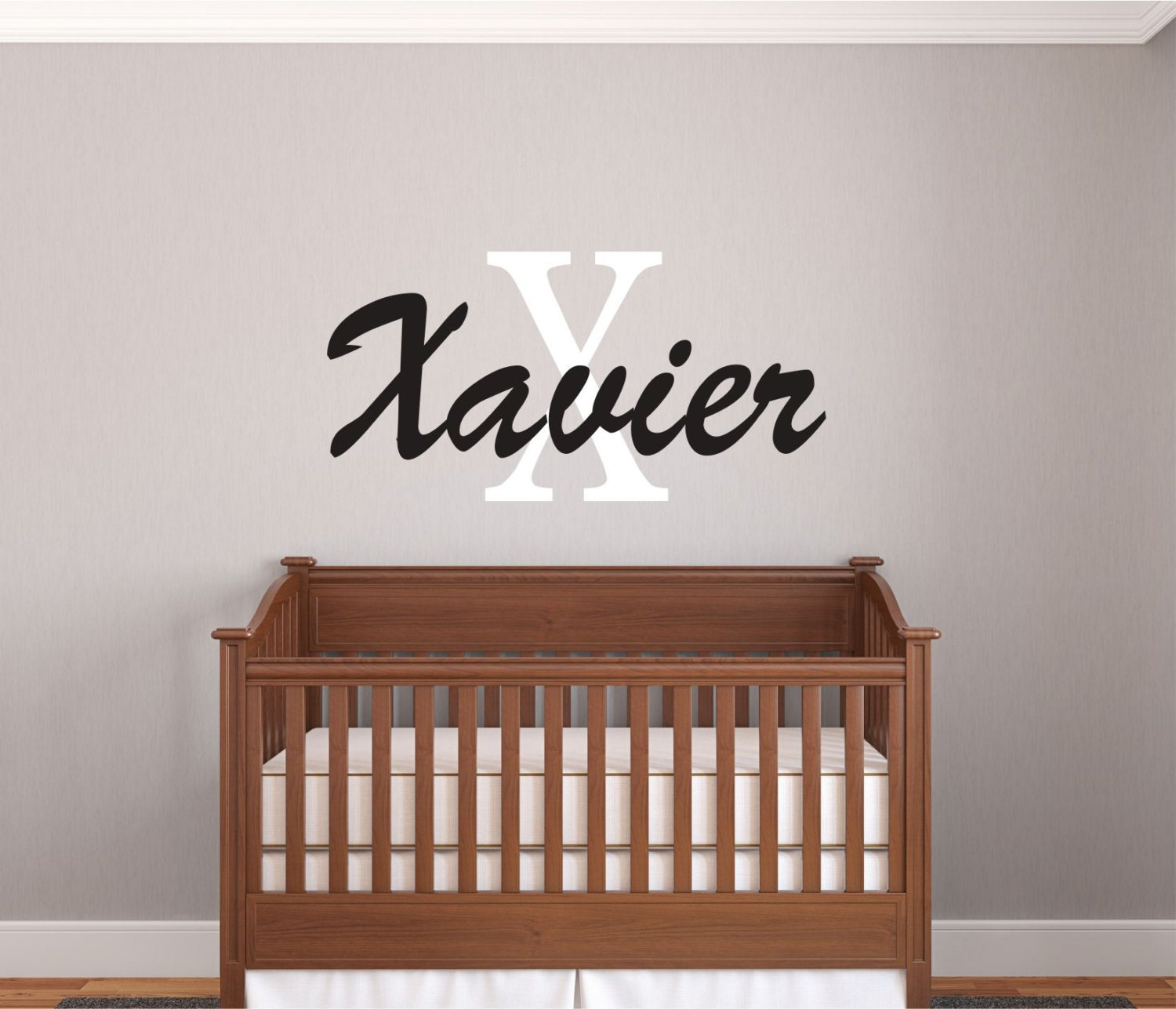 boys name decals name wall decal boys room decor baby wall decals nursery wall decals. Black Bedroom Furniture Sets. Home Design Ideas