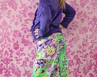 Bridgette's Palazzo Pants and Capris PDF Pattern sizes 6/12 months to 8 girls