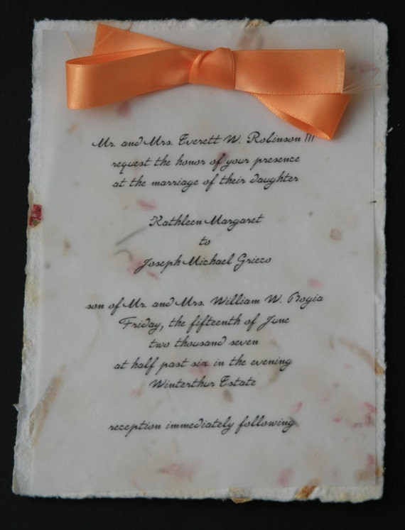 il_570xN.420579120_p743 items similar to wedding invitation vellum over handmade flower,Vellum Invitations