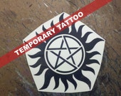 Anti-Possession Tattoo - Supernatural Cosplay