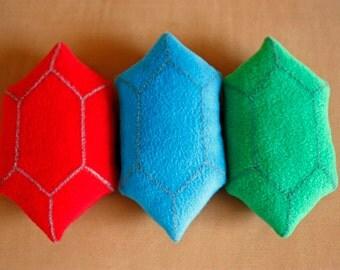 LOZ: Rupee Plush Set