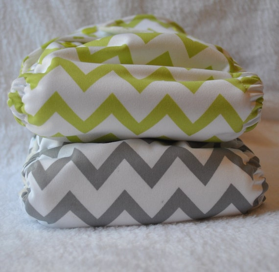 New One Size All-in-Two Cloth Diaper 2 Pack
