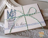 Floral Notecards- Texas Bluebonnets- Hi there