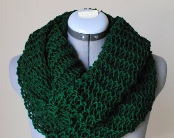 Infinity Scarf- Rich GREEN