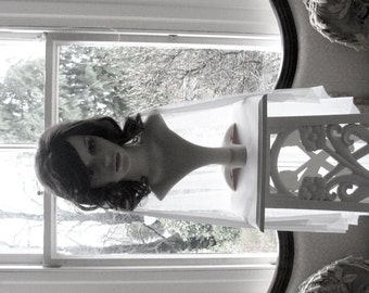 Silk tulle veil, bridal veil - 100% silk tulle wedding veil  - Chaste