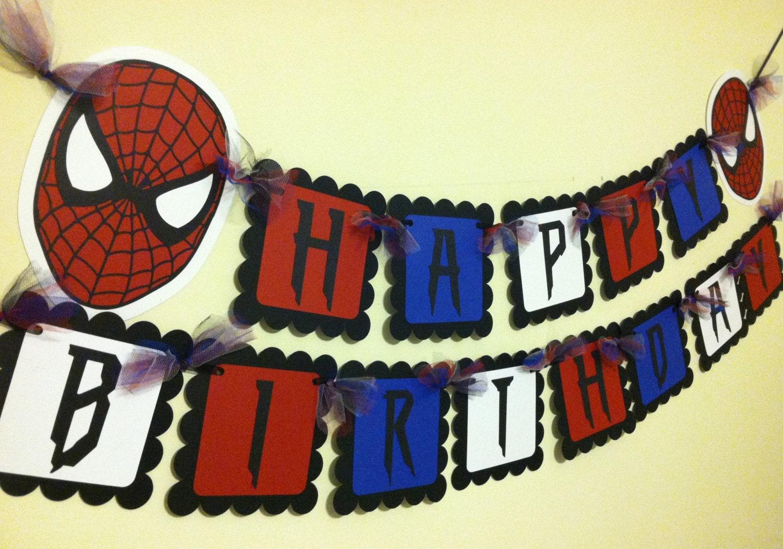 Happy 5th Birthday Boy Spiderman | www.pixshark.com ...