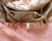 """Toddler Blanket """"Twinflower"""""""