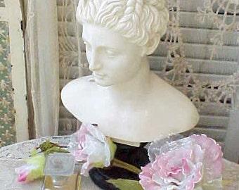 Lovely Art Deco Era Perfume Bottle In Celluloid Holder