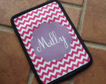 Chevron or create your own Kindle/E-Reader Sleeve