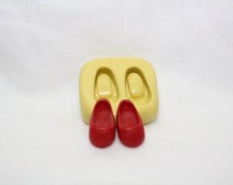 Baby shoes - silicone mold./molde de silicona, zapaticos de bebé.