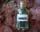 Aventurine Gemstone Bottle S99