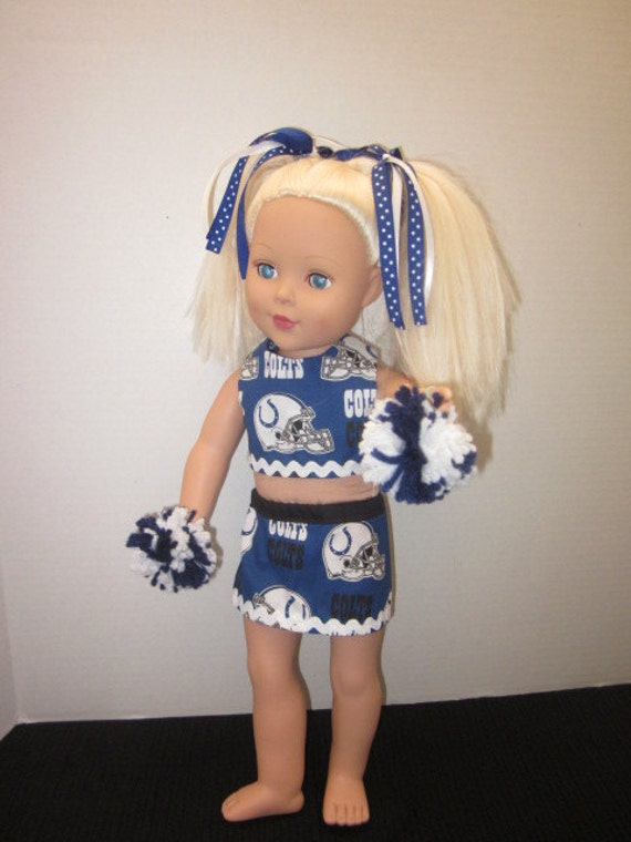 18 Inch Doll Clothes Colts Football Custom By