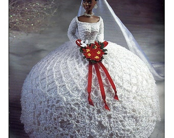 The Bridal Belle Collection Miss December Fashion Doll  Crochet Pattern  Annies Attic