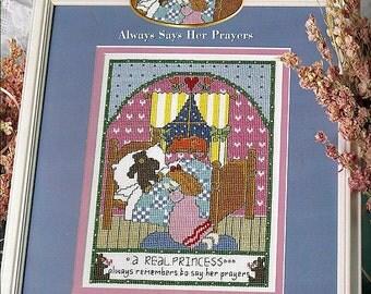 A Real Princess1 Always Says Her Prayers StitchWorld Cross Stitch Pattern Book