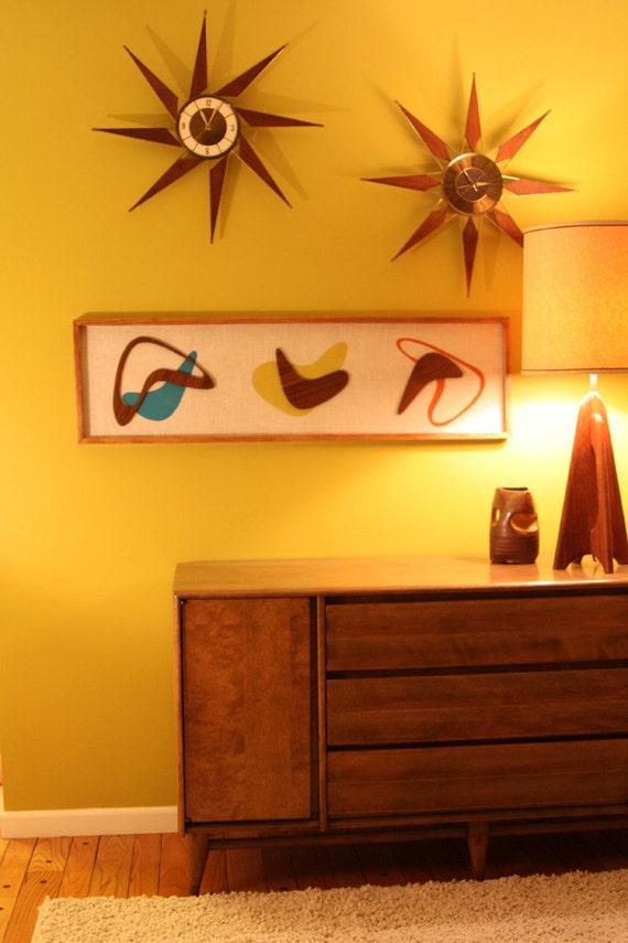 mid century danish modern atomic witco by modernretrograde. Black Bedroom Furniture Sets. Home Design Ideas