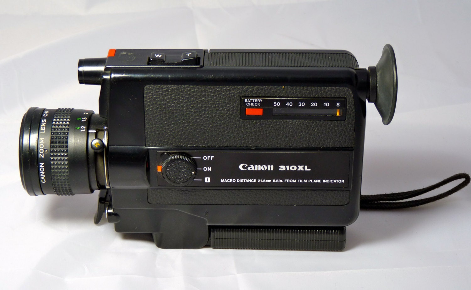 vintage canon 310xl super 8mm video camera. Black Bedroom Furniture Sets. Home Design Ideas