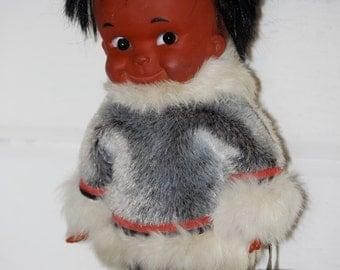 Vintage Eskimo Doll