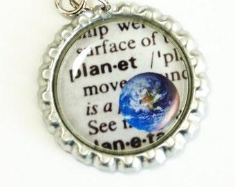 Earth Bookmark, bookmark, book mark, Shepherd Hook, gift for reader, book mark, earth (2620)