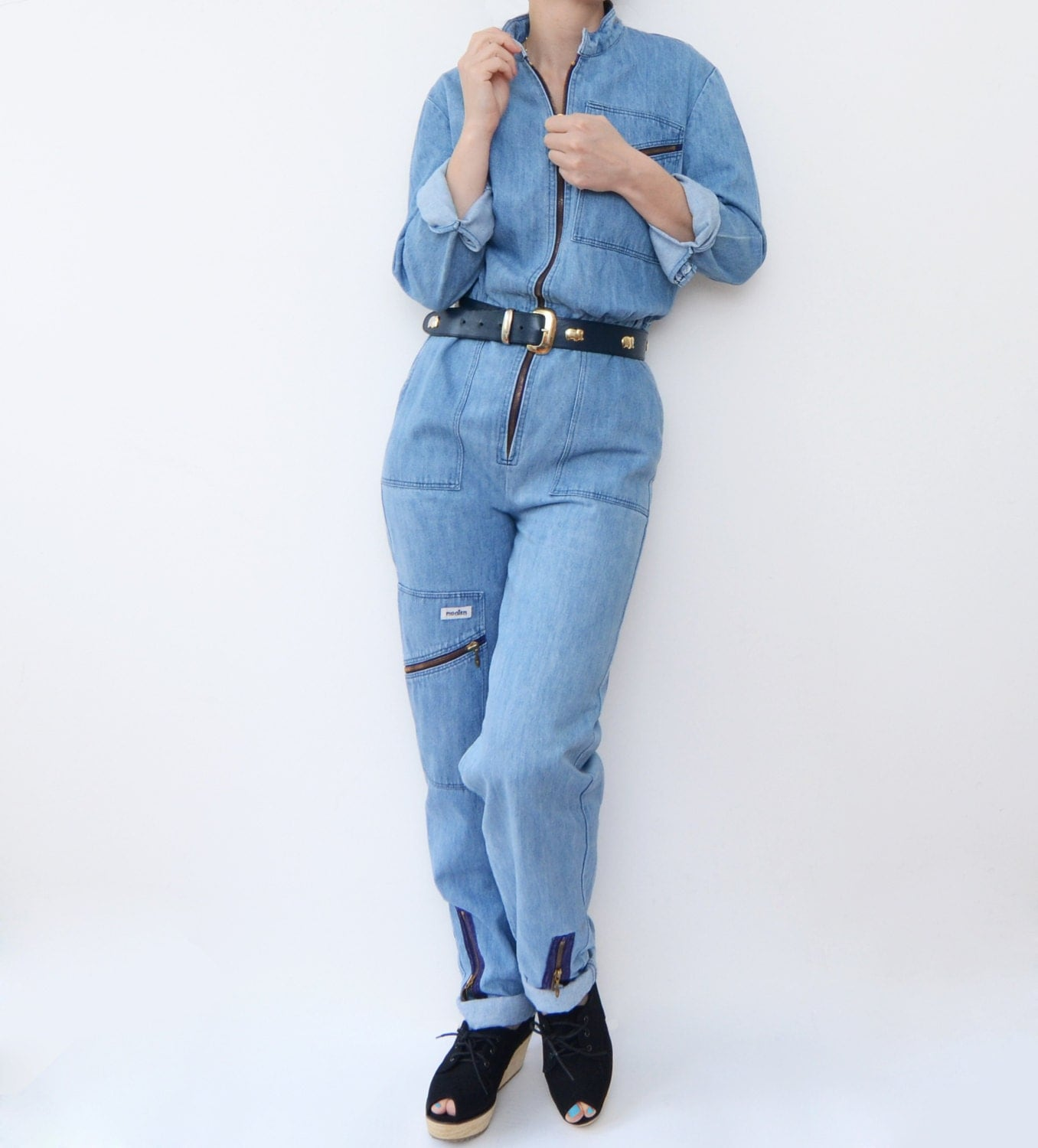 Awesome Anglomania Jeans Vivienne Westwood Angloman Jns Womens Denim Jumpsuit