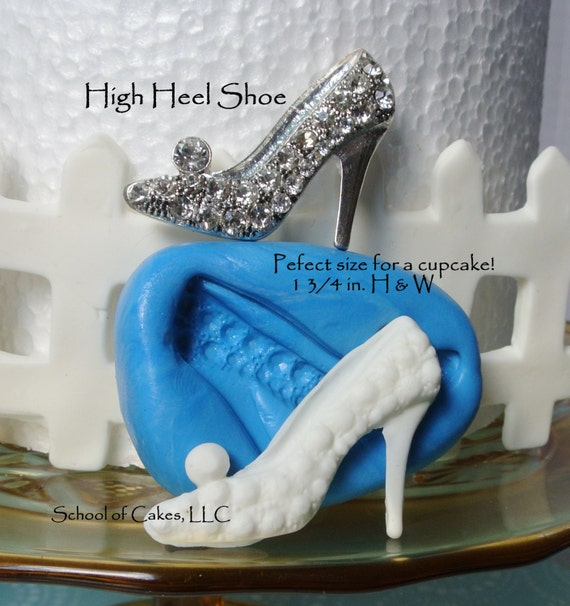 silicone mold shoe high heel silicone mold by