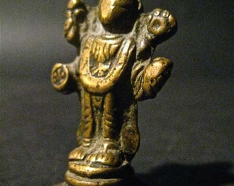 Hindu Antiquity Is Bronze Casting Of God Vishnu