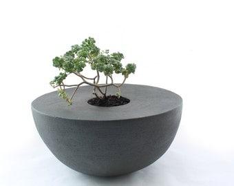 Handbuilt Hemisphere Planter