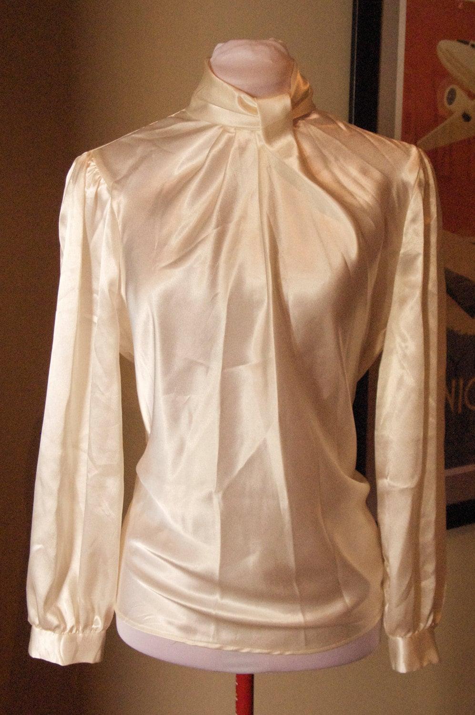 White Polyester Blouse