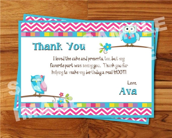 thank you notes after birthday party  client thank you letter, Birthday card