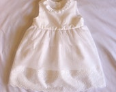 Summer Angel Baby Dress made with breathable soft cotton fabric