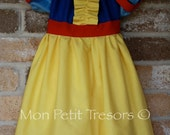 Snow White Dress - Size 3 months to 8 years