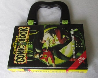 Green Lantern Altered Book Purse Overstreet Comic Book Price Guide