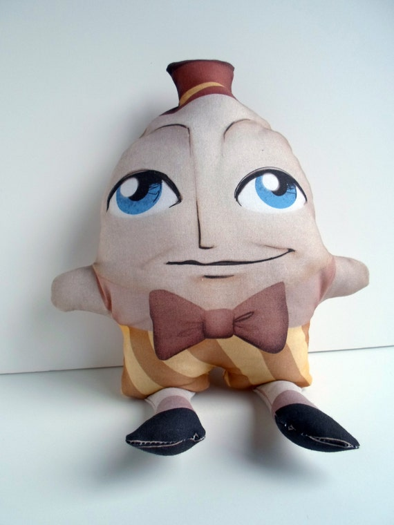 Nursery Decor Humpty Dumpty Plush Doll, Pillow, Toy -- Safe for All Ages
