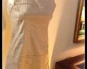 RESERVE  LISTING For MAGGIE SIlver Metallic Mini GoGo Dress