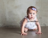 Baby Headbands, Child Headband, Baby Bow, Flower Headband, Baby Bows Headband, Lavender Baby Bow, Baby Girl Flower Headband