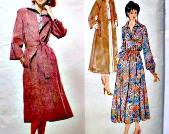 Misses Coat Dress, Dress, Coat and Belt Vintage Sewing Pattern Vogue 1961 Jerry Silverman Size 12
