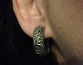 Earrings Clip On Earrings Vintage Silver Earrings