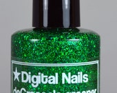 deGrasse's greener: a Digital Nails nail lacquer inspired by Neil deGrasse Tyson, awesome astrophysicist and Science Communicator