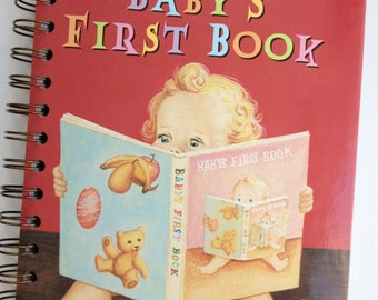 Baby's First Book Little Golden Book Recycled Journal